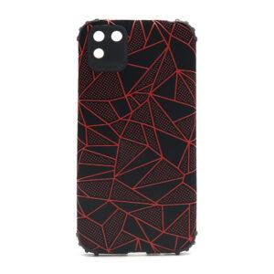 Huawei Y5p maska mozaik crvena (F88402)