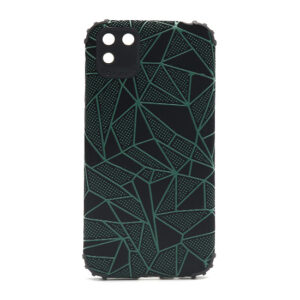 Huawei Y5p maska mozaik zelena (F88403)