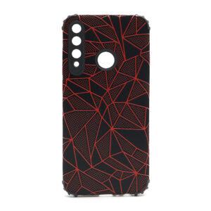 Huawei Y6p maska mozaik crvena (F88414)