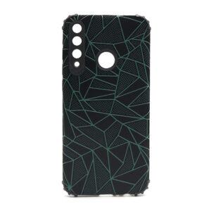 Huawei Y6p maska mozaik zelena (F88415)