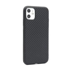 iPhone 11 maska karbon crna mat (F80783)