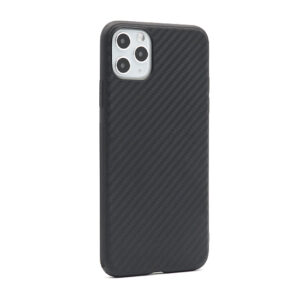 iPhone 11 Pro Max maska karbon crna mat (F80784)