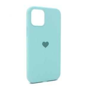 iPhone 12 maska svetlo plava SRCE (87280)