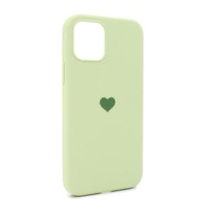 iPhone 12 maska svetlo zelena SRCE (87284)