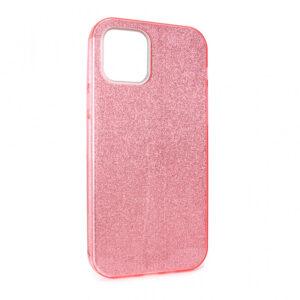 iPhone 12 Pro maska roze sa šljokicama (87626)