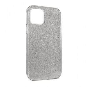iPhone 12 Pro maska srebrna sa šljokicama (87627)