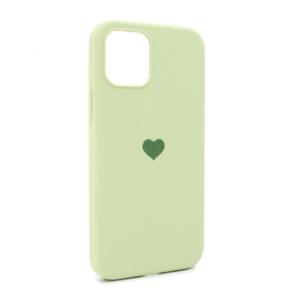 iPhone 12 Pro maska svetlo zelena SRCE (87284)