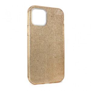 iPhone 12 Pro maska zlatna sa šljokicama (87628)