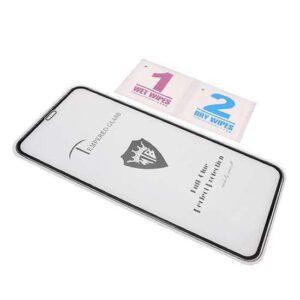 iPhone XR premium zaštitno staklo crno (FL6746)