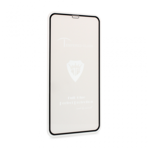 iPhone XS Max premium zaštitno staklo crno (FL6747)