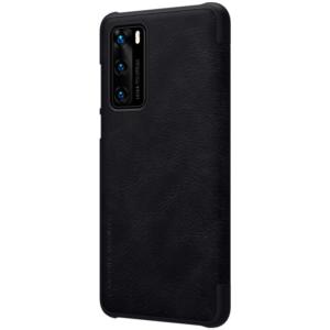 Kožna Futrola za Huawei P40 crna (79738)