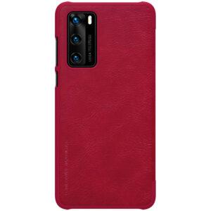 Kožna Futrola za Huawei P40 crvena (79739)