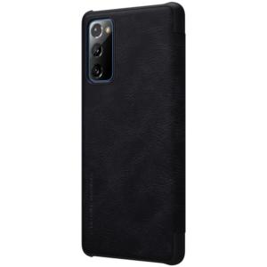 Kožna Futrola za Samsung S20 FE crna (87986)