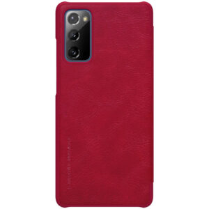 Kožna Futrola za Samsung S20 FE crvena (87987)