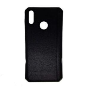 Kožna maska za Huawei Honor 8A crna