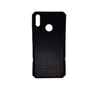 Kožna maska za Huawei P30 Lite crna