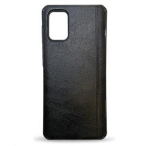 Kožna maska za Samsung S20 Plus crna