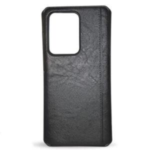 Kožna maska za Samsung S20 Ultra crna
