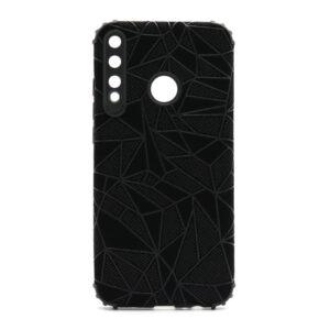 Huawei P40 Lite E maska mozaik crna (F88384)