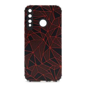 Huawei P40 Lite E maska mozaik crvena (F88386)
