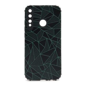 Huawei P40 Lite E maska mozaik zelena (F88387)