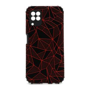 Huawei P40 Lite maska mozaik crvena (F88382)