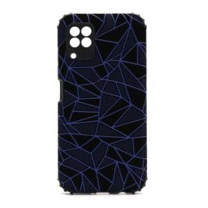 Huawei P40 Lite maska mozaik plava (F88381)