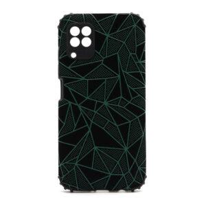 Huawei P40 Lite maska mozaik zelena (F88383)