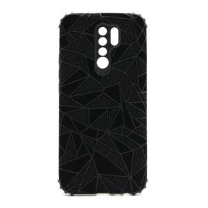 Xiaomi Redmi 9 maska mozaik crna (F88392)