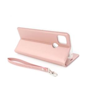 Xiaomi Redmi 9C preklopna futrola roze (85543)