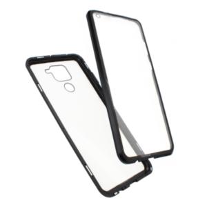 Redmi Note 9 magnetna maska 360° crna