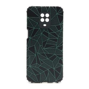 Redmi Note 9 Pro maska mozaik zelena (F88419)