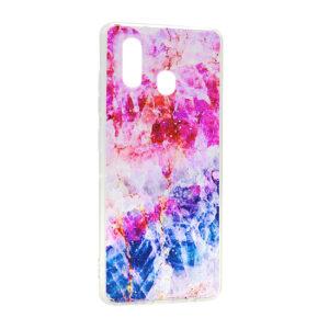 Samsung A20e maska pink plava ART (F88249)