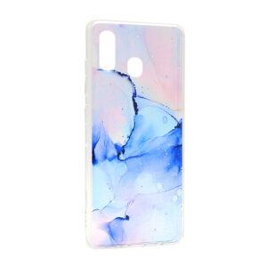 Samsung A20e maska roze plava ART (F88245)