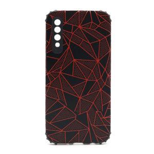 Samsung A30s maska mozaik crvena (F88410)