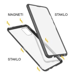 Samsung A51 magnetna maska 360° crna