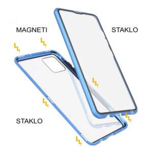 Samsung A71 magnetna maska 360° plava
