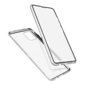 Samsung A71 magnetna maska 360° srebrna