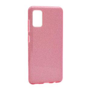 Samsung A71 maska roze sa šljokicama (F85639)