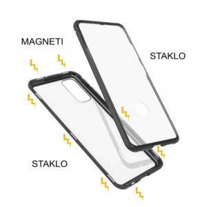 Samsung S20 magnetna maska 360° crna