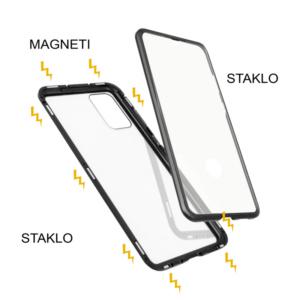Samsung S20 Plus magnetna maska 360° crna