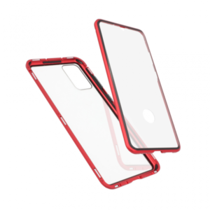 Samsung S20 Plus magnetna maska 360° crvena