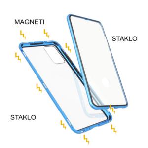 Samsung S20 Plus magnetna maska 360° plava