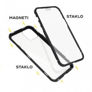 iPhone 12 Pro magnetna maska 360° crna