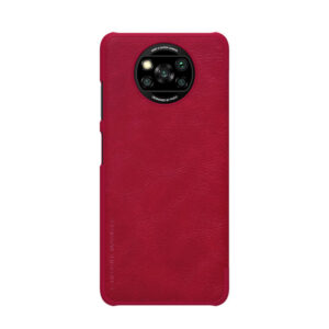 Kožna Futrola za Xiaomi Poco X3 crvena (88201)