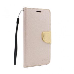 Motorola Moto G9 Play futrola preklopna zlatna (88301)