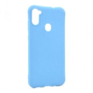 Samsung A11 silikonska maska svetlo plava (87165)
