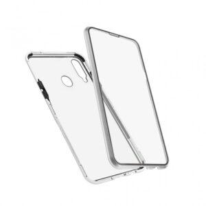 Samsung A20s magnetna maska 360° srebrna (84464)