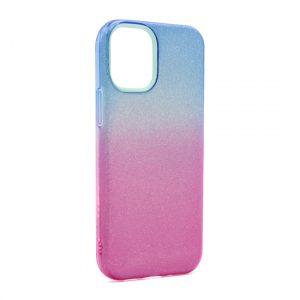 iPhone 12 Pro maska plavo ljubičasta sa šljokicama (F89882)