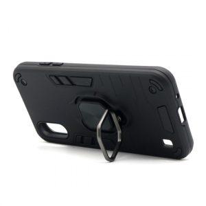 Samsung A01 maska crna Defender sa prstenom (F89838)